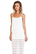 DeLacy Olivia Tank in White
