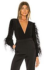 DELFI Cindy Bodysuit in Black
