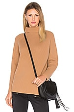 Rita Turtleneck Sweater in Camel