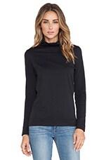 DemyLee Jenna Turtleneck Sweater in Black