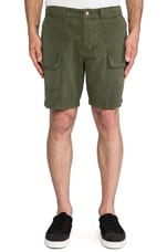 Jonet Cargo Short in Olive