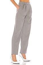 DANIELLE GUIZIO Classic Trouser Pant in Grey