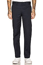 Dickies Slim Fit Work Pant in Dark Navy