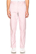 Dickies Slim Taper Work Pant in Baby Pink