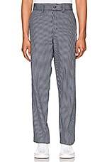 Dickies '67 Slim Fit Twill Hickory Stripe Pant in Hickory Stripe