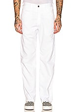 Dickies Relaxed Premium Painter's Utility Pant in White