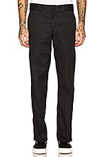 Dickies Slim Fit Work Pant in Black