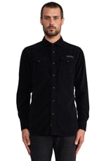 Carl Button Down in Black