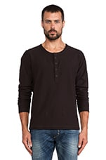 Canope Henley in Black