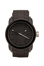 Double Down Silicone DZ1437 44mm Watch in Black