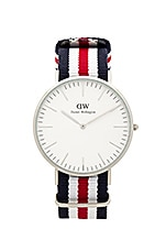 Daniel Wellington Classic Canterbury 40MM in Silver