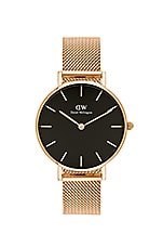 Daniel Wellington Petite Melrose 32mm Watch in Rose Gold