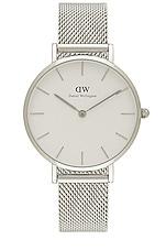 Daniel Wellington Petite Sterling 32mm Watch in Silver