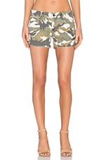 Renee Cut-Off Shorts en Canteen