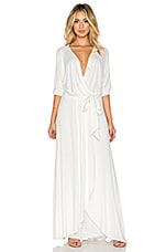 ROBE MAXI BELTED