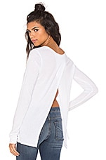 Monroe Back Top en Blanc Doux