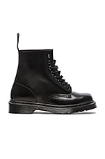 1460 8-Eye Boot in Black Mono
