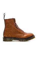 Hadley 8 Eye Boot in Tan