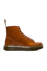 Talib 8 Eye Boot in Oxblood