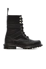 Arun Fold Down Boot in Black