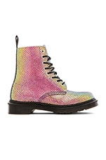 Pascal 8-Eye Boot in Violet