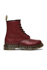 Iconic 8 Eye Boot in Cherry Red