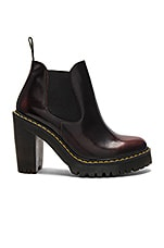Dr. Martens Hurston Boot in Cherry Red