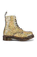 Dr. Martens 1460 Pascal Boot in Gold