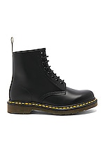 Dr. Martens 1460 8 Eye Leather Boots in Black