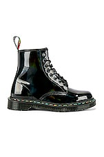 Dr. Martens 1460 Rainbow Boot in Black