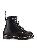 Dr. Martens x Schott1460 8 Eye Boot in Black