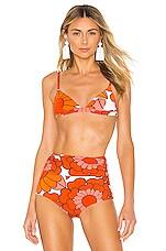 Dodo Bar Or Rachelle Bikini Top in Lulu Orange