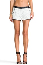 Mercer Shorts in Black/White