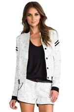 Rella Jacket in Black/White