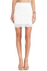 Teles Skirt in White