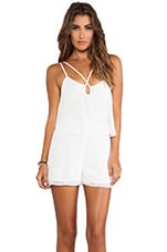Loordes Romper in White