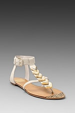 Izara Sandal in Bone