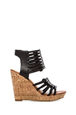 Tila Wedge in Black