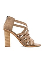 Franney Heel in Taupe