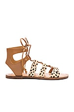 Dolce Vita Jasmyn Calf Hair Sandal in Leopard