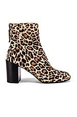 Dolce Vita Cyan Bootie in Dark Leopard