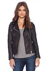 DOMA Biker Jacket in Black