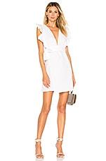 Donna Mizani Maya Mini Dress in White