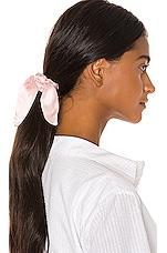 DONNI. Silk Chiquita Scrunchie in Pink