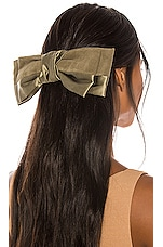 DONNI. Lulu Bow in Olive