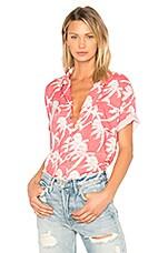 DOUBLE RAINBOUU Hawaiian Shirt in Blow Out