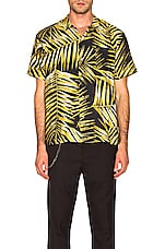 DOUBLE RAINBOUU Hawaiian Shirt in Tiger Palm