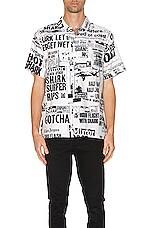 DOUBLE RAINBOUU Hawaiian Shirt in Bad News