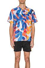 DOUBLE RAINBOUU Hawaiian Shirt in Balearic Beat