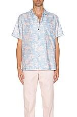 DOUBLE RAINBOUU Hawaiian Shirt in Paradise City Pink